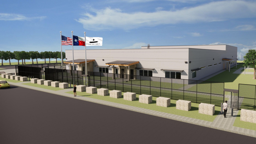 Texas Comptroller Glenn Hegar attends groundbreaking ceremony of Texas Bullion Depository