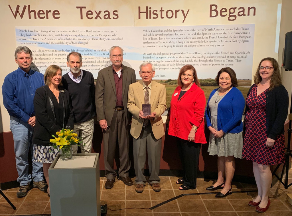 Museum of the Coastal Bend volunteer receives prestigious award