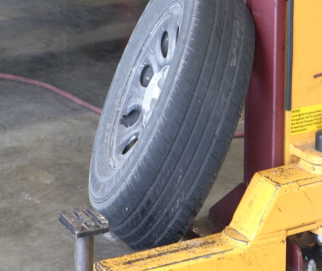 Local tire shop urges preparation for upcoming freeze