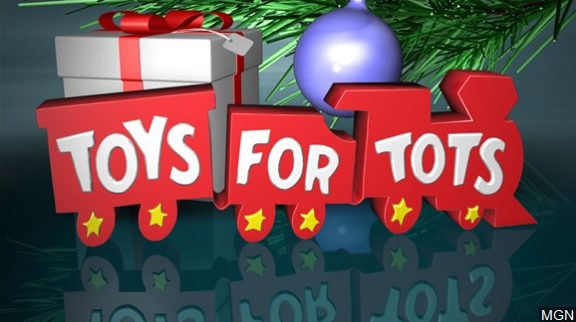 Toys for Tots and Blue Santa Partner