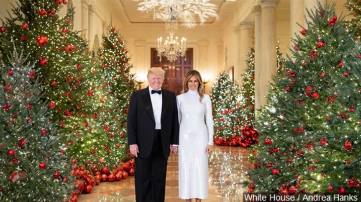 President Trump Wishes U.S. Troops a Merry Christmas