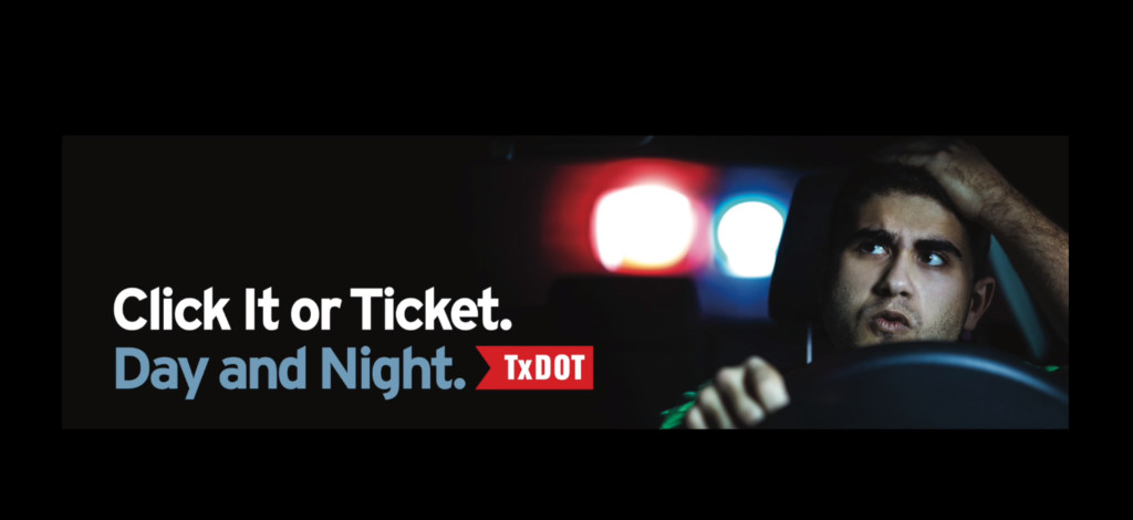 """TxDot launches """"Click It or Ticket"""" campaign"""