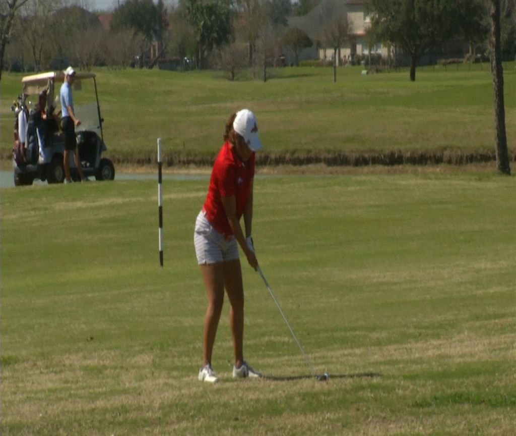 UHV Golf Winds Up Play In S.A.