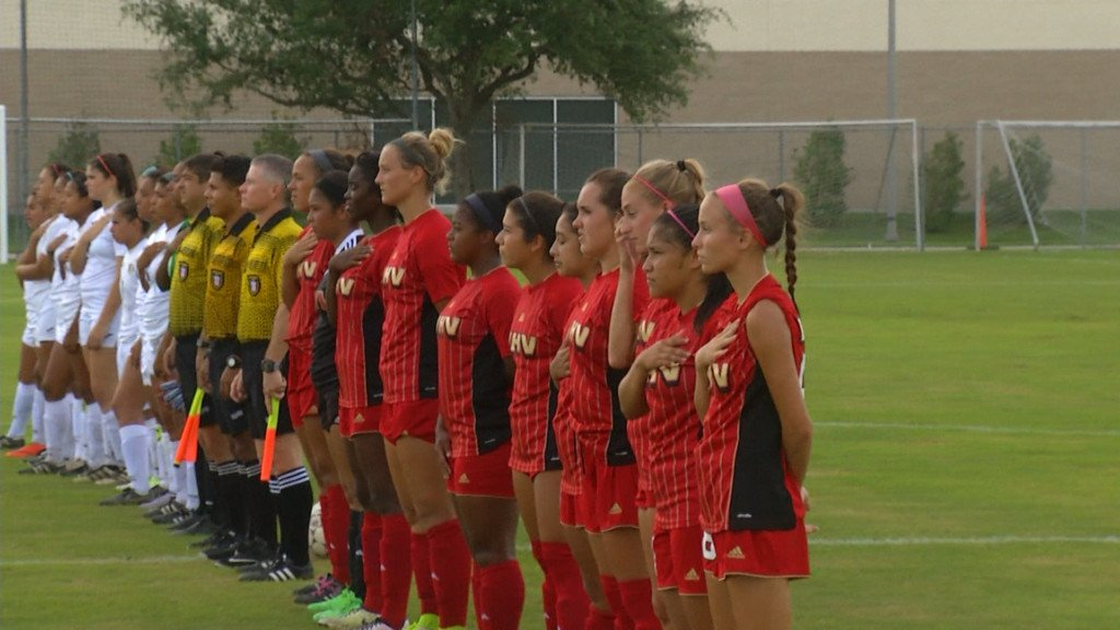 UHV Soccer Scrimmages Vs. A&M-International