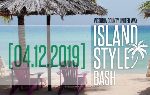 Victoria County United Way to host Island Bash fundraiser