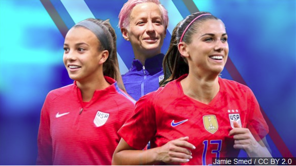 STJ Girls Soccer Player Reports From Women's World Cup In Paris