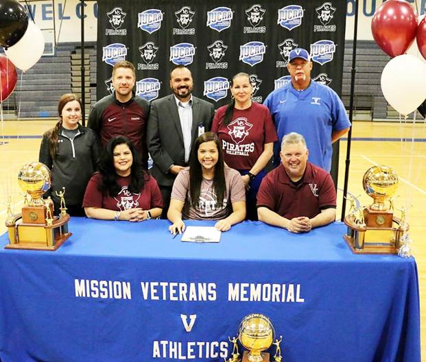 VC Volleyball Signs Mission H.S. Star