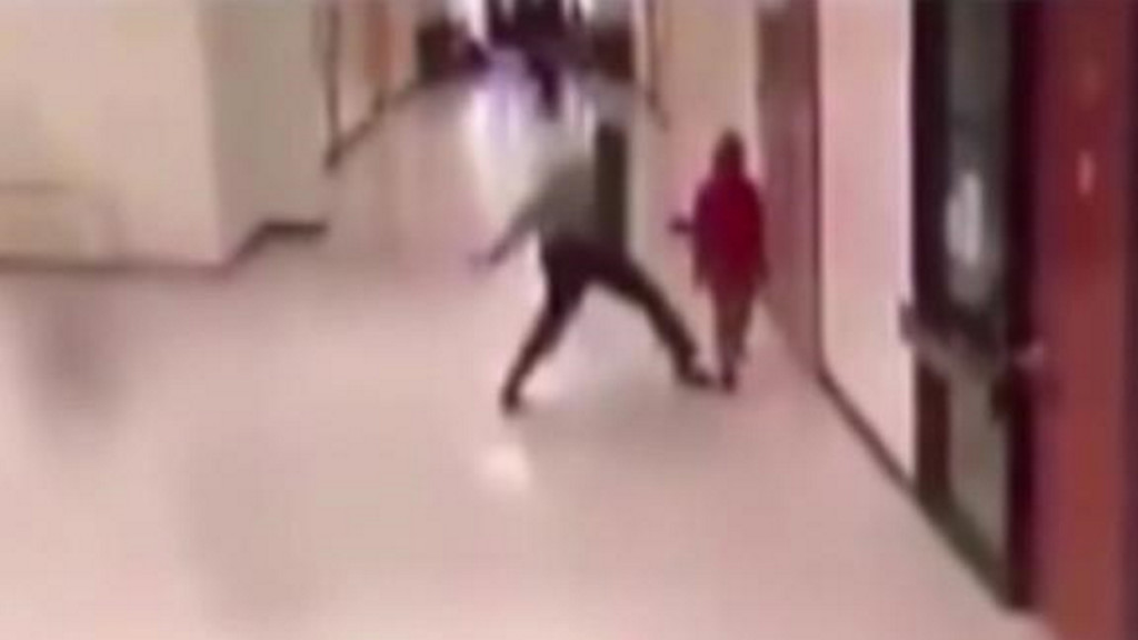 School officer slams, drags student