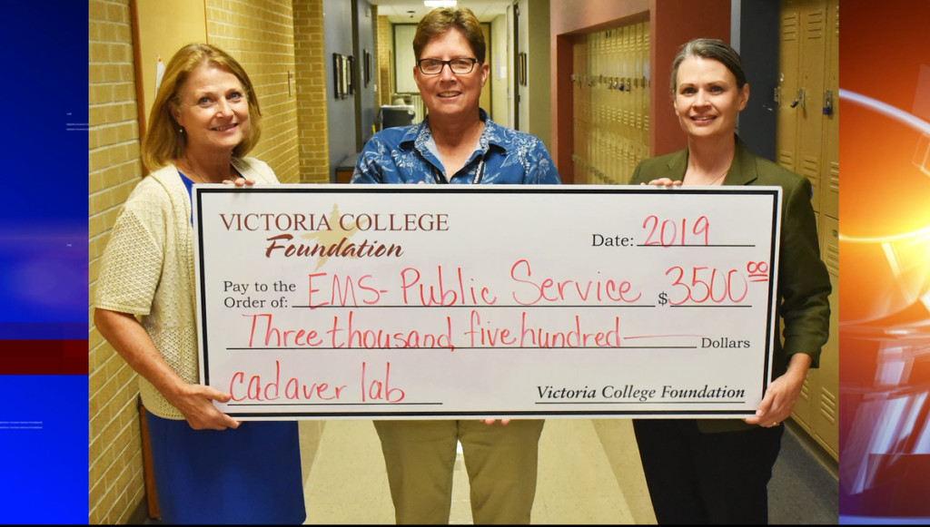 Victoria College receives grant for EMS students