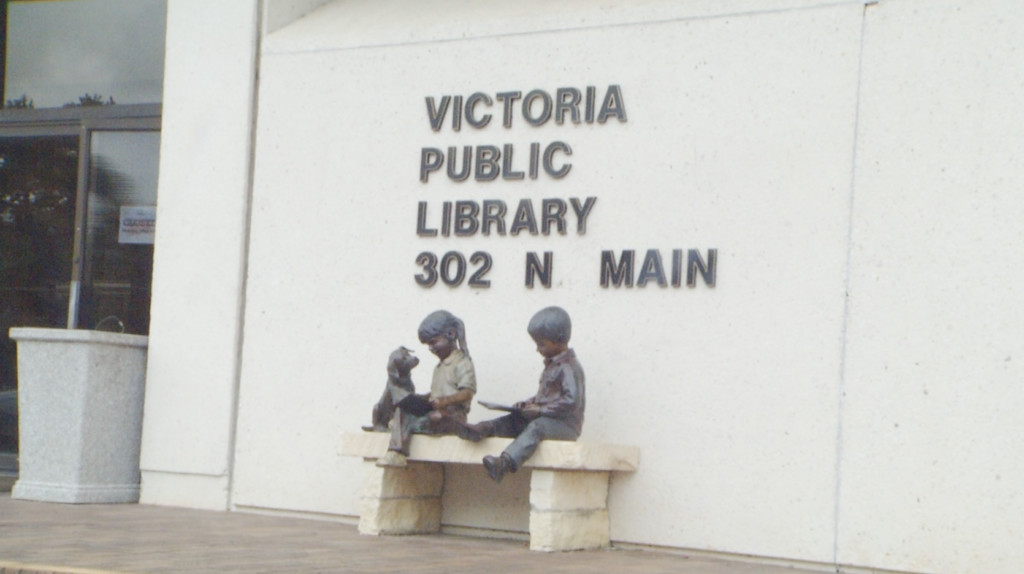 Get a bag full of books for $1 at the Victoria Public Library