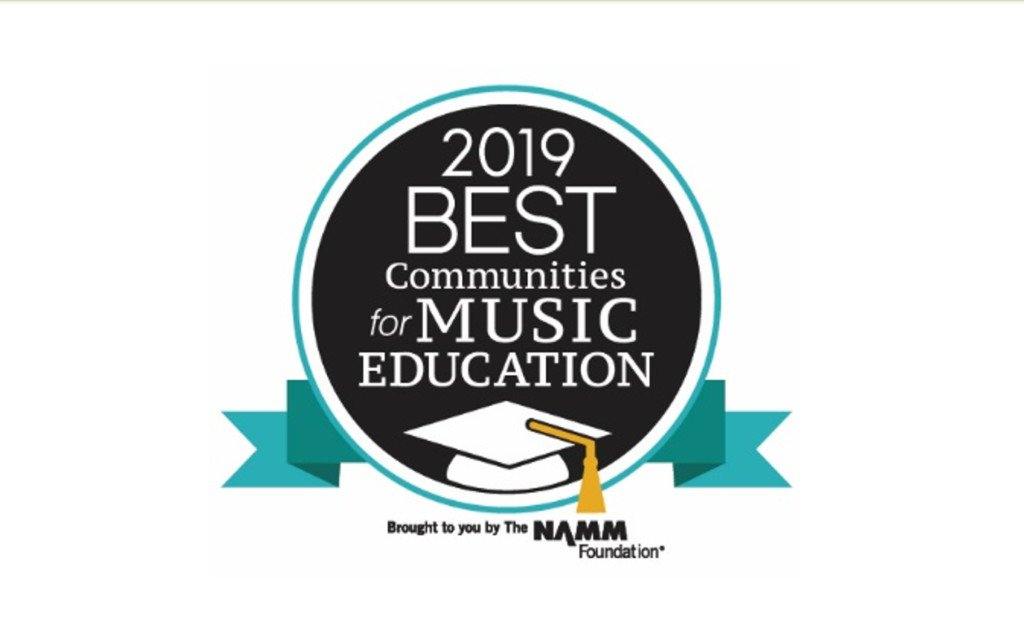 VISD honored with the Best Communities for Music Education designation