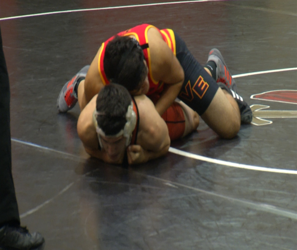 VISD Wrestlers Make Round Two Of Regionals