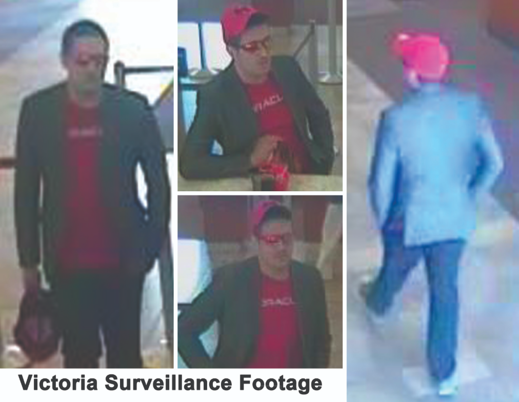 """Police searching for """"Dapper Desperado"""" linked to robberies in Victoria and Houston"""
