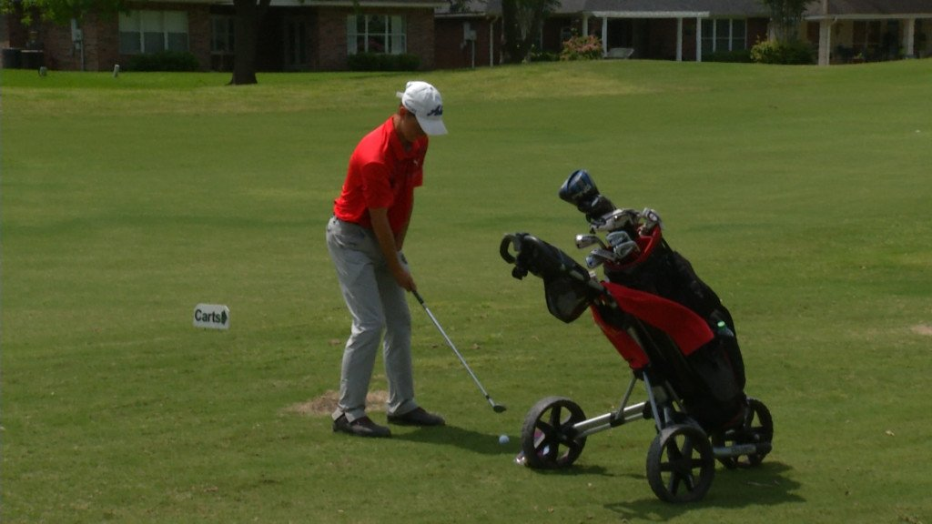 East Boys Golf Playing In McAllen
