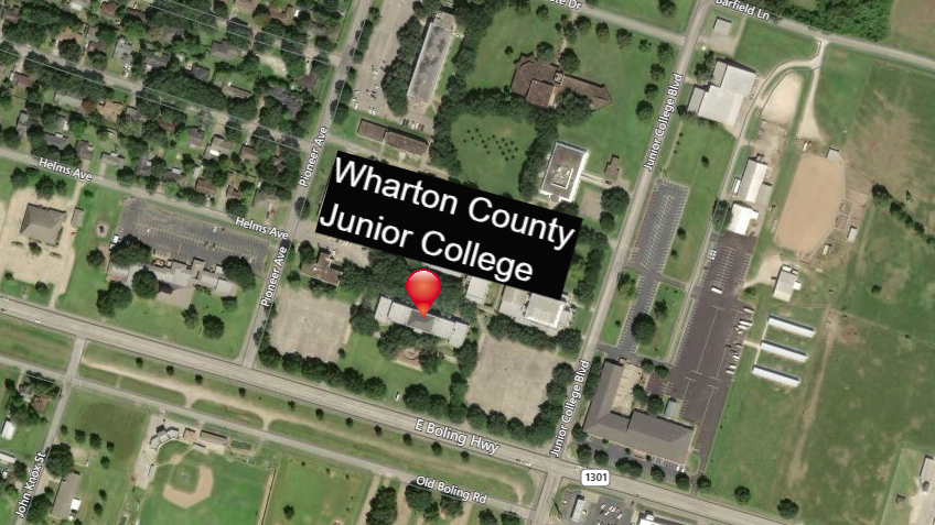 Wharton County Junior College closed due to inclement weather