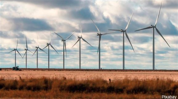 69 turbines set up for Texas Panhandle wind farm
