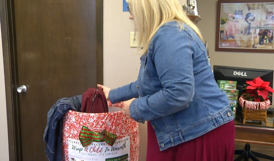 Local business teams up with VISD to 'Wrap a Child in Warmth' this holiday season