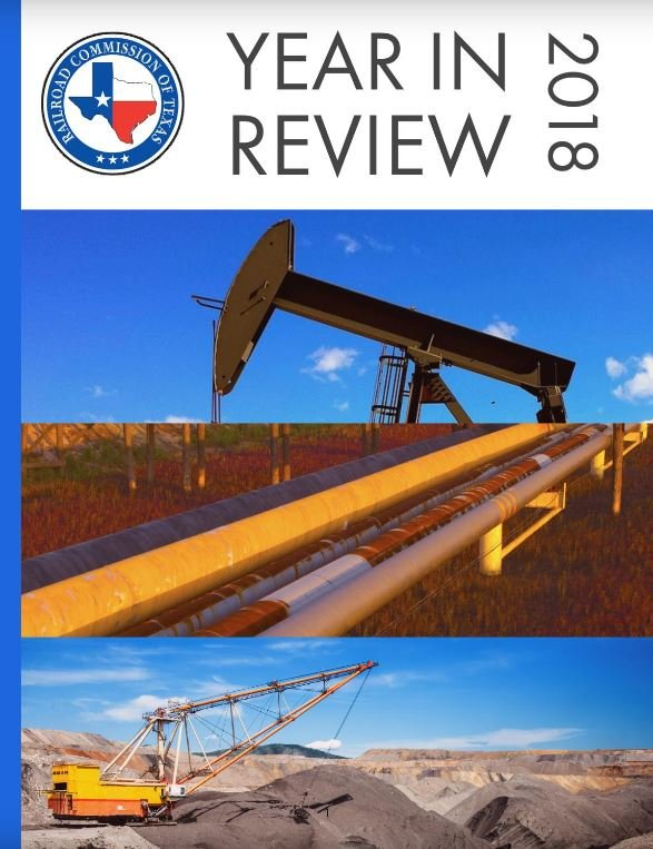 Railroad Commission of Texas presents 2018 Year in Review
