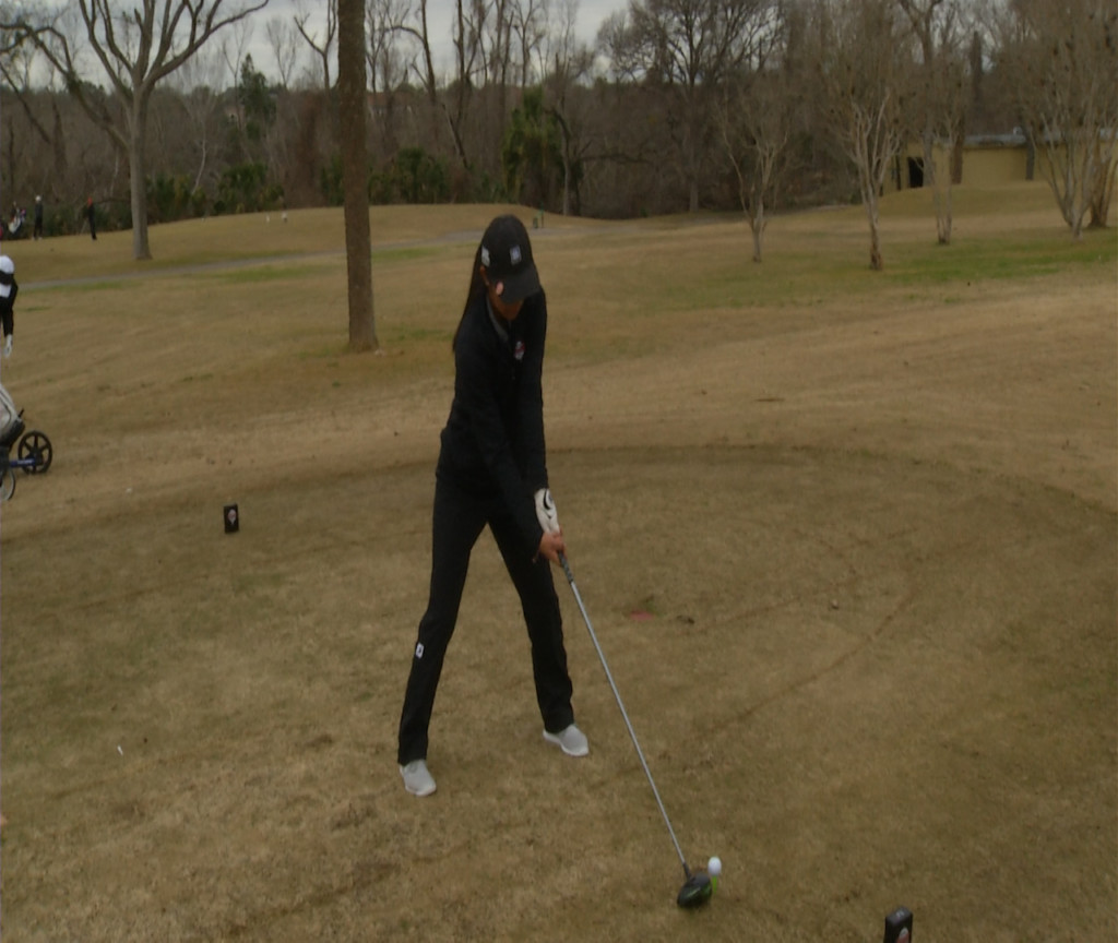 Area H.S. Girls Golfers At State Round One 5-13