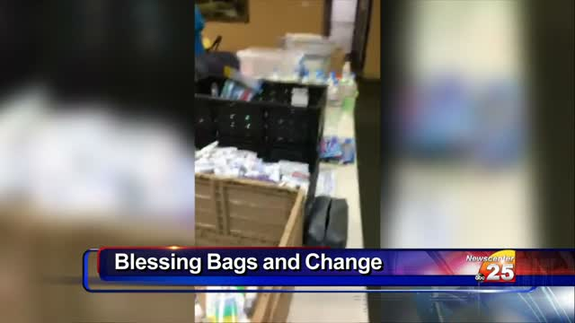 Hygienic items, quarters needed for Blessing Bags being made for the homeless