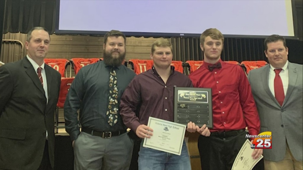 West Football Awards Banquet Results