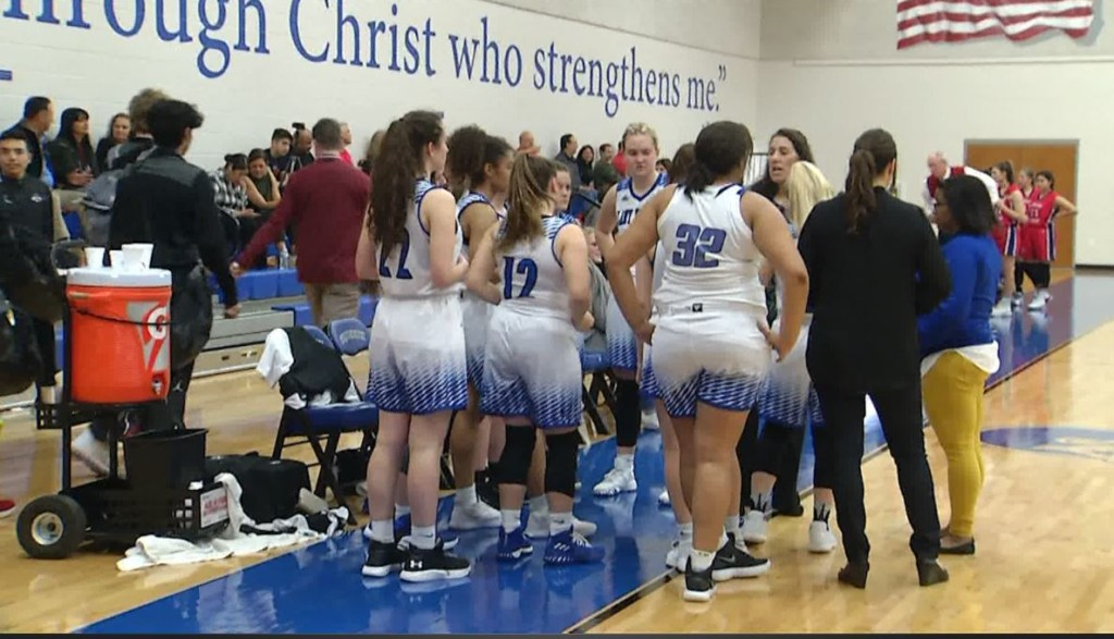 The Lady Flyers lost to Cuero on Saturday morning.