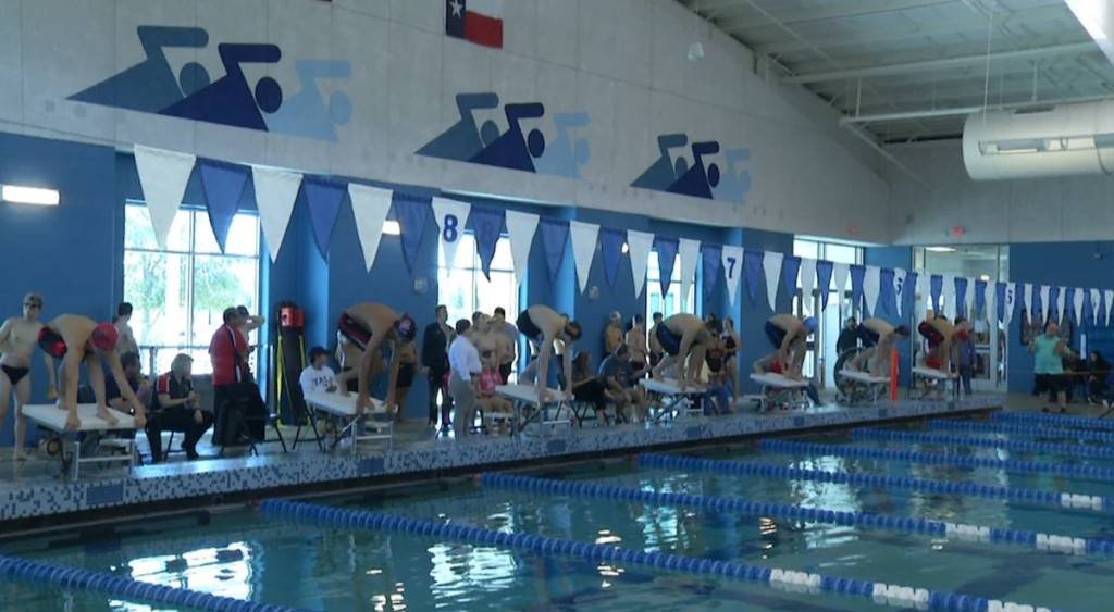 VISD played host to a swim invitational on Saturday