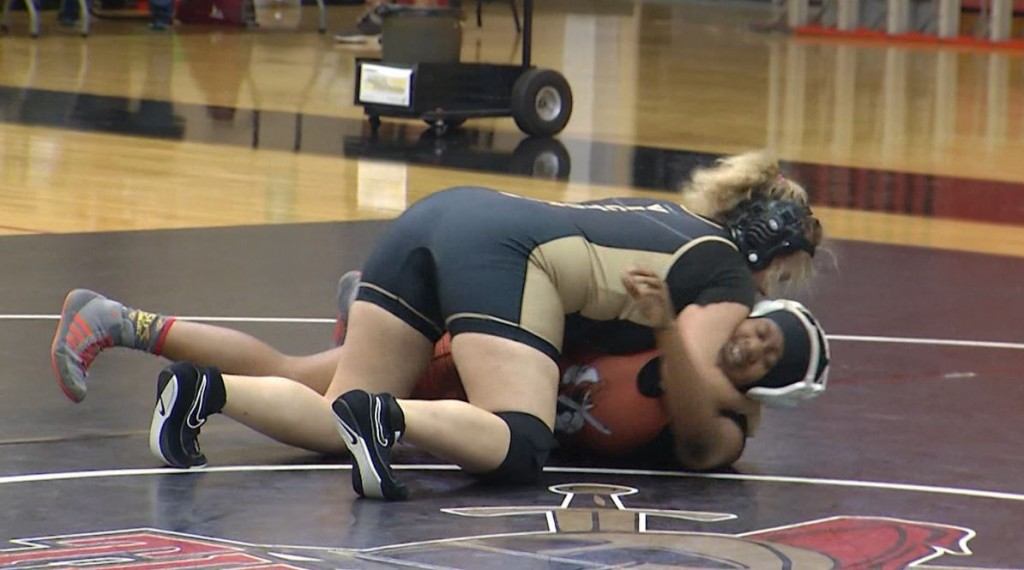 VISD's final home wrestling meet of the season