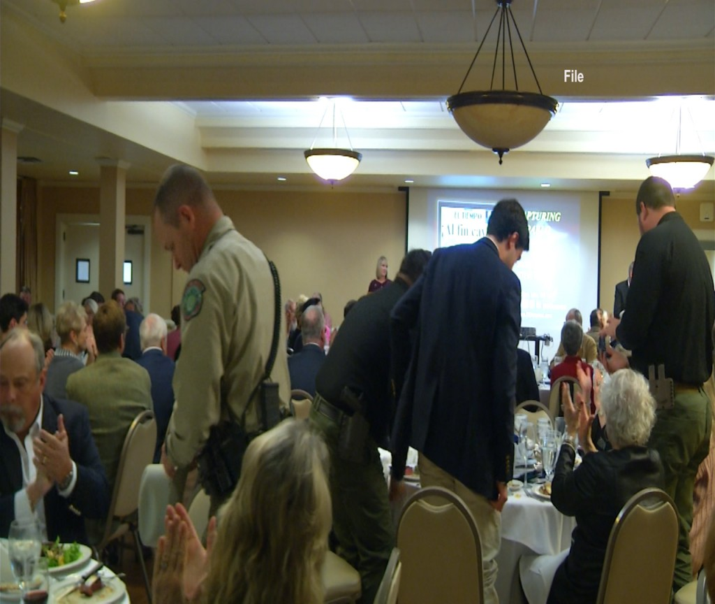 The Victoria 100 Club is having its 41st banquet to support First Responders