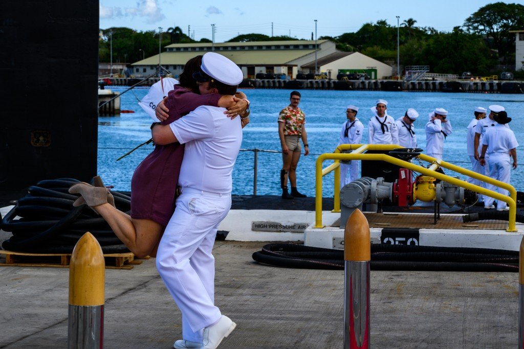 Texas Returns Home From Deployment