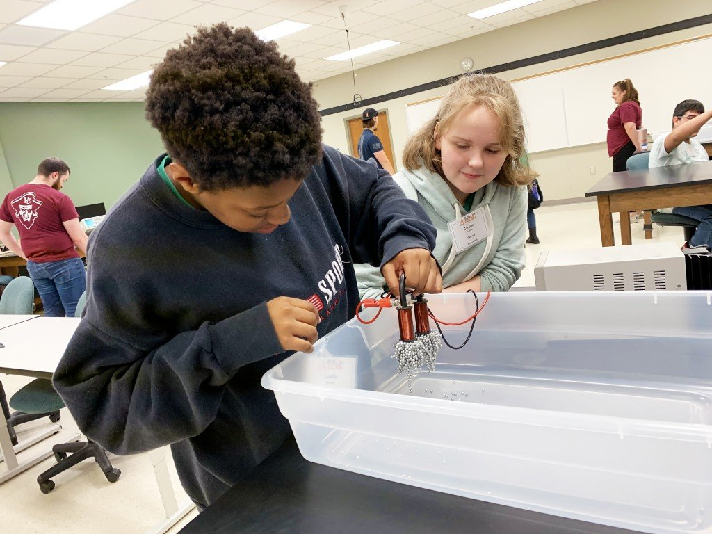 Area students participate in VC's inaugural STEM Expo