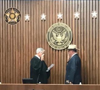 T. Michael O'Connor sworn in as U.S. Marshal