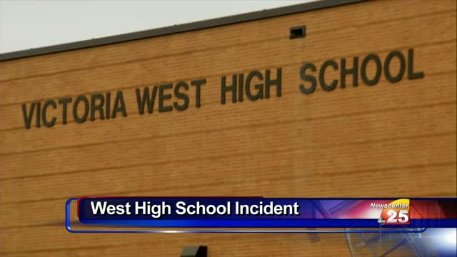 West High School went on lockdown