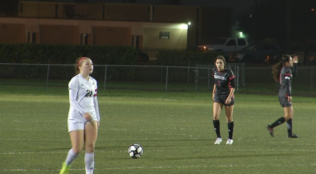East and West soccer played each other at Memorial on Tuesday