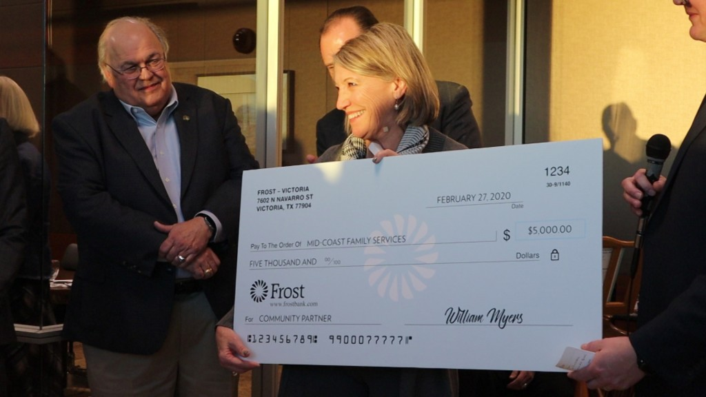 Frost Bank Grand Opening