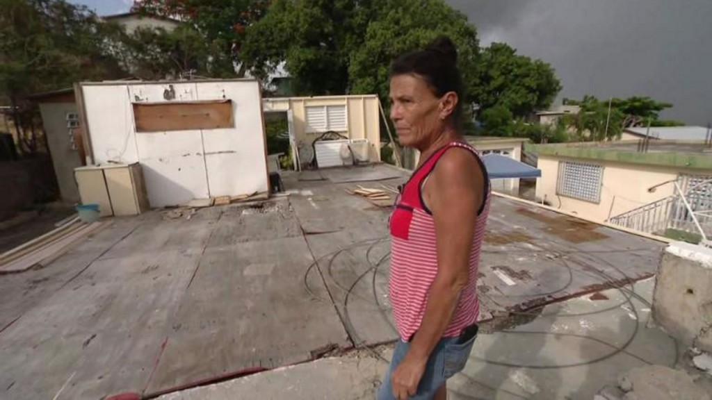 Hurricane Maria destroyed her home. Now Dorian threatens her shelter