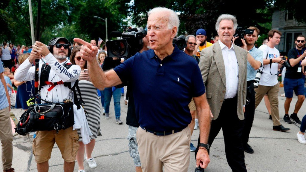 Biden says Trump's July 4th event is designed 'to stroke his ego'