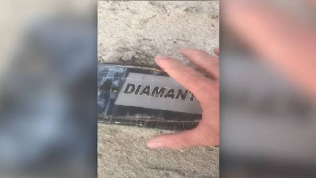 Hurricane Dorian washes up brick of cocaine in Florida