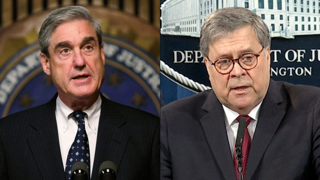 Where Barr and Mueller don't agree, in their own words