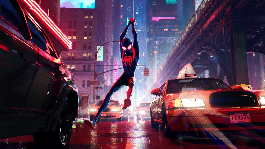 'Spider-Man' swings into dazzling if goofy 'Spider-Verse'