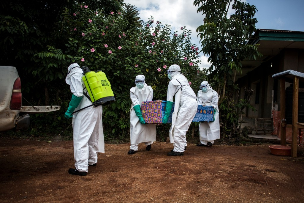 Ebola outbreak rises to 560 cases