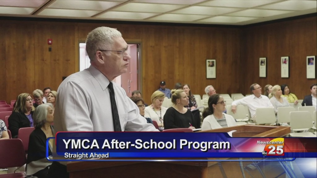 Ymca Leader Presents Summer Program Offerings To Visd Board