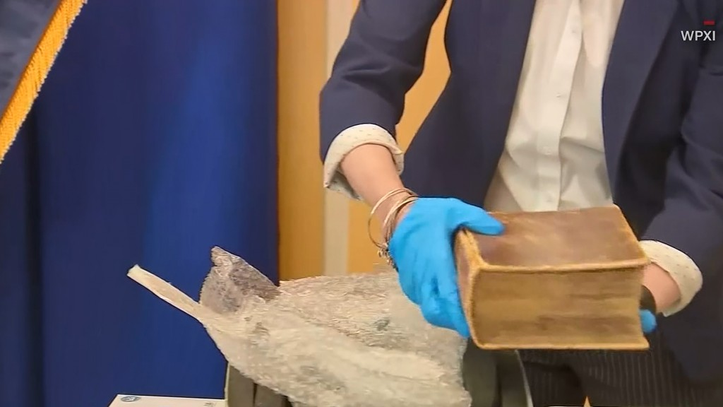 Stolen 400-year-old Bible missing for decades returns to US