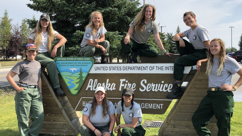 All-women's fire crew heads to fight fires in Alaska