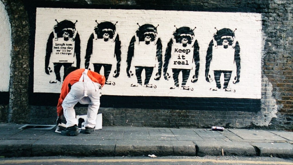 Former Banksy photographer reveals images said to be of artist