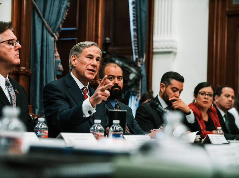 Gov. Abbott holds first Texas Safety Commission meeting on combating hate in Texas