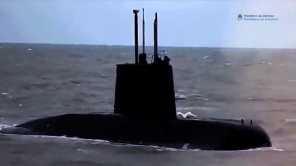 Argentina's missing submarine found a year after it vanished with 44 aboard
