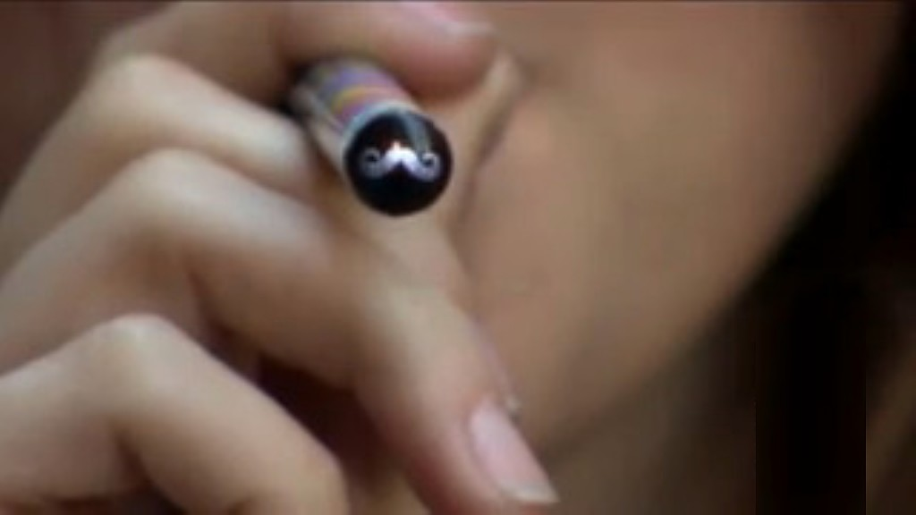 New bill aims to cap nicotine levels in e-cigarettes