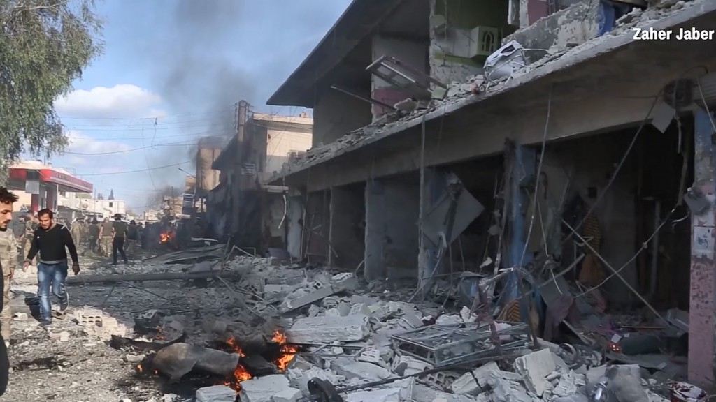 Car bomb explosion kills at least 13 in northern Syria