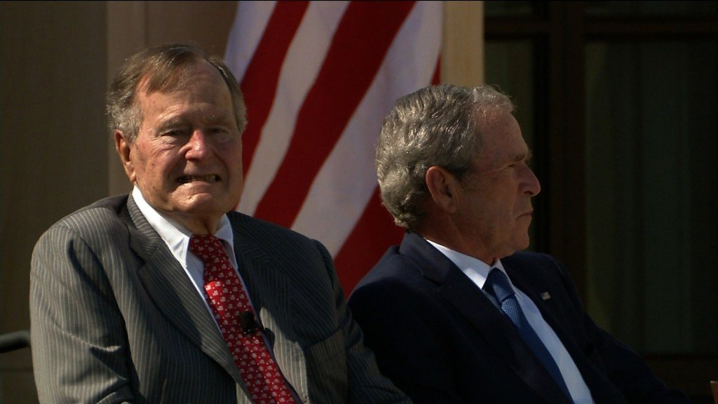 George W. Bush to eulogize late father